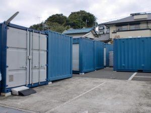屋外型トランクルーム静岡