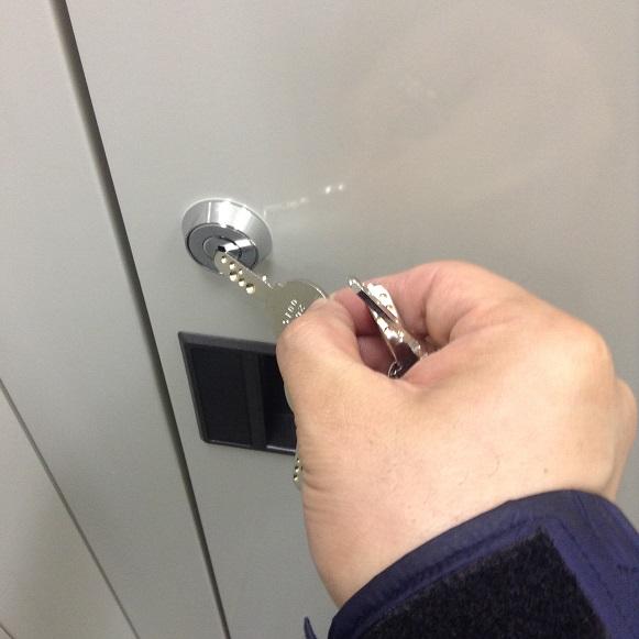 トランクルーム用鍵